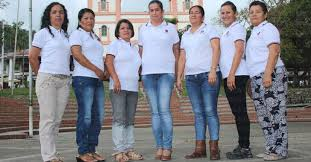 The ladies from Cafe Mujer in Cordoba, Quindo, Colombia. 2018