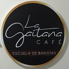 The logo for La Gaitana School of Baristas.